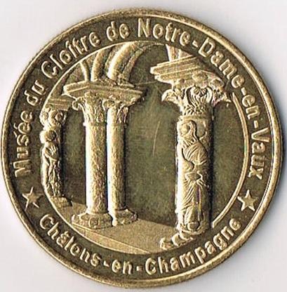 Médailles et Patrimoine  =  12 Mp_51_11