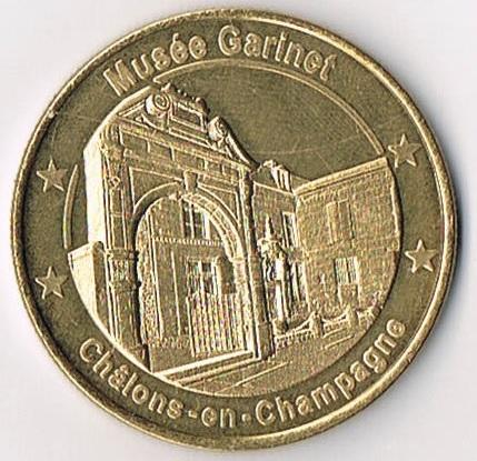 Médailles et Patrimoine  =  12 Mp_51_12