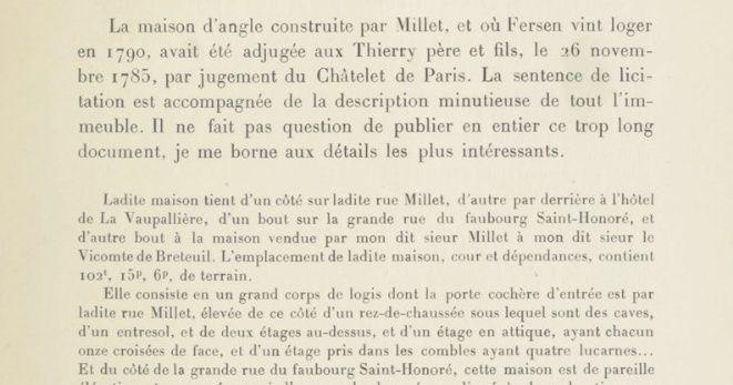 Le logement de Fersen à Paris - Page 2 111
