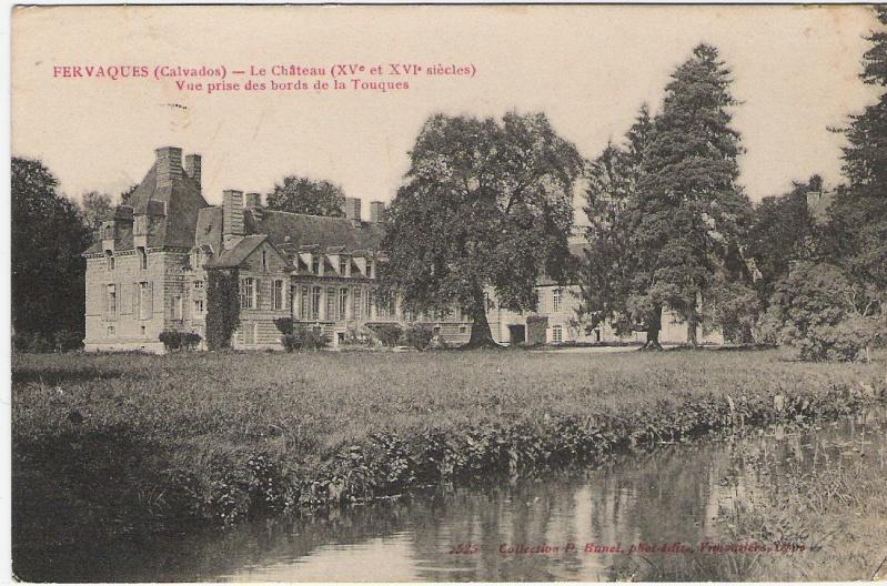 Le château de Fervaques ... 14ferv10