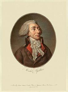 Le 20 janvier 1793, assassinat de Le Pelletier de Saint-Fargeau 220px-10