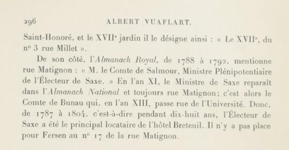 Le logement de Fersen à Paris - Page 2 310