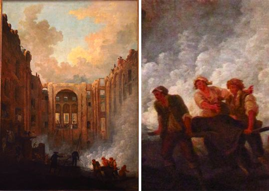8 juin 1781 : Incendie de l'Opéra A8587110