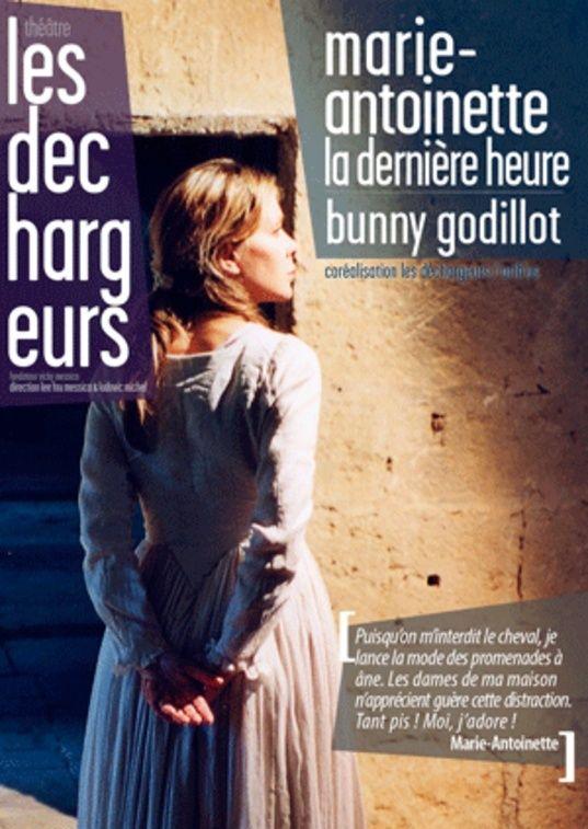 """THÉÂTRE  """"MARIE ANTOINETTE, la dernière heure """" Affich10"""