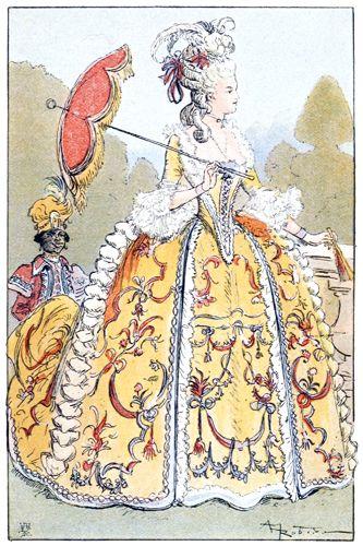 L'ombrelle au XVIIIe siècle After-10