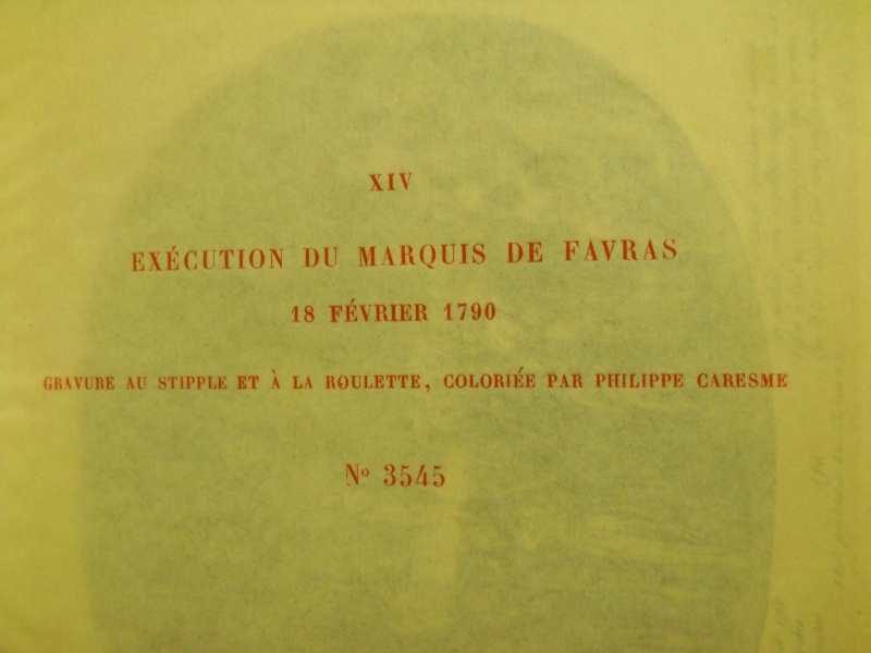 L'affaire Favras  ... Carnav18