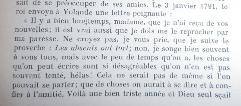 Les lettres de Louis XVI à Mme de Polignac - Page 2 Hedwig10