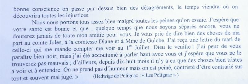 Les lettres de Louis XVI à Mme de Polignac - Page 2 Lettre11