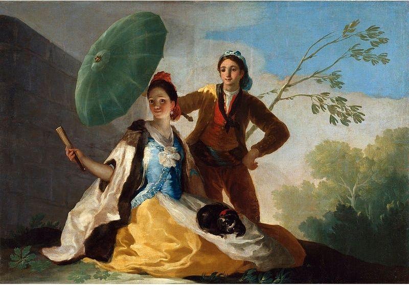 L'ombrelle au XVIIIe siècle Lombre10