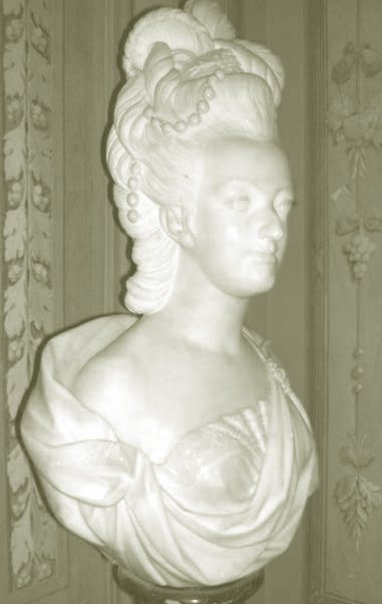 Buste de Marie-Antoinette, Palais Pitti (Florence) Maribu10