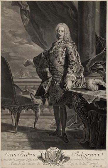 Maurepas - Jean-Frédéric Phélypeaux de Maurepas Maurep10