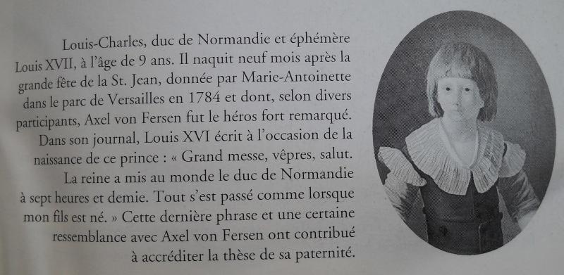 Louis XVII est-il le fils de Louis XVI ? - Page 2 Patern10