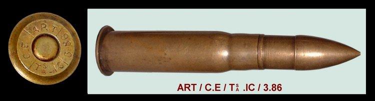Cartouche à balle blindée de fusil Gras. Bpti_m11