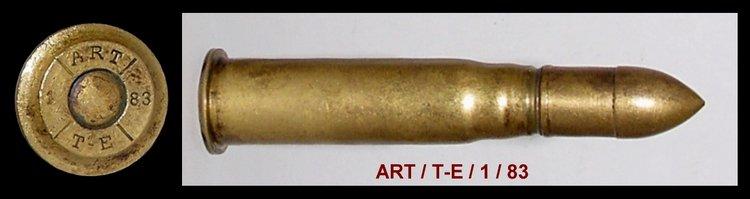 Cartouche à balle blindée de fusil Gras. Dpti_m10