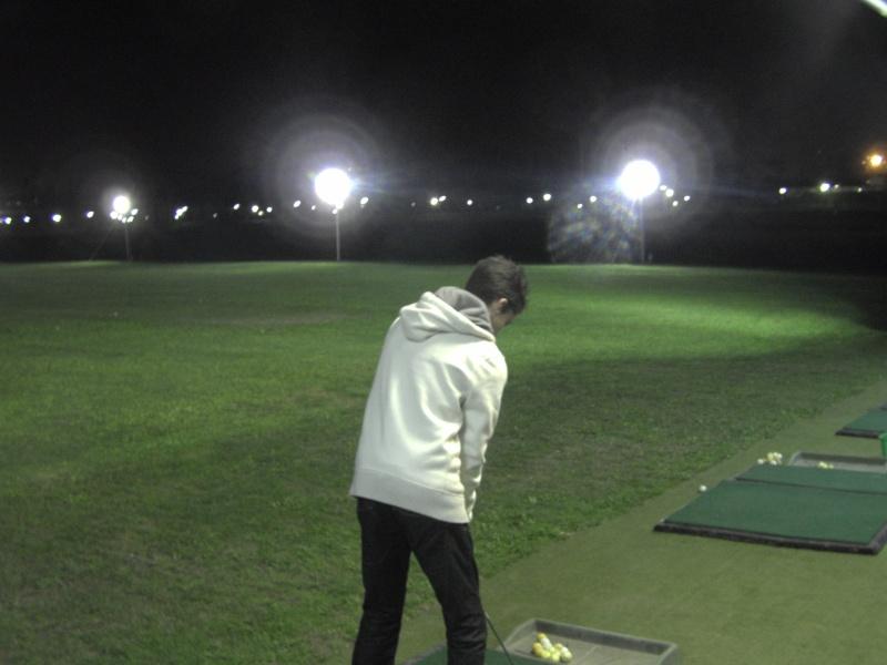 Premier Practice éclairé en P A C A (marseille golf club) Noctur13