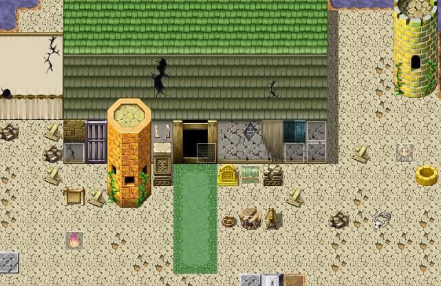 RPG - [Hacia] Alkimia de Cumpleaños, Un Viaje al Pasado Casita10