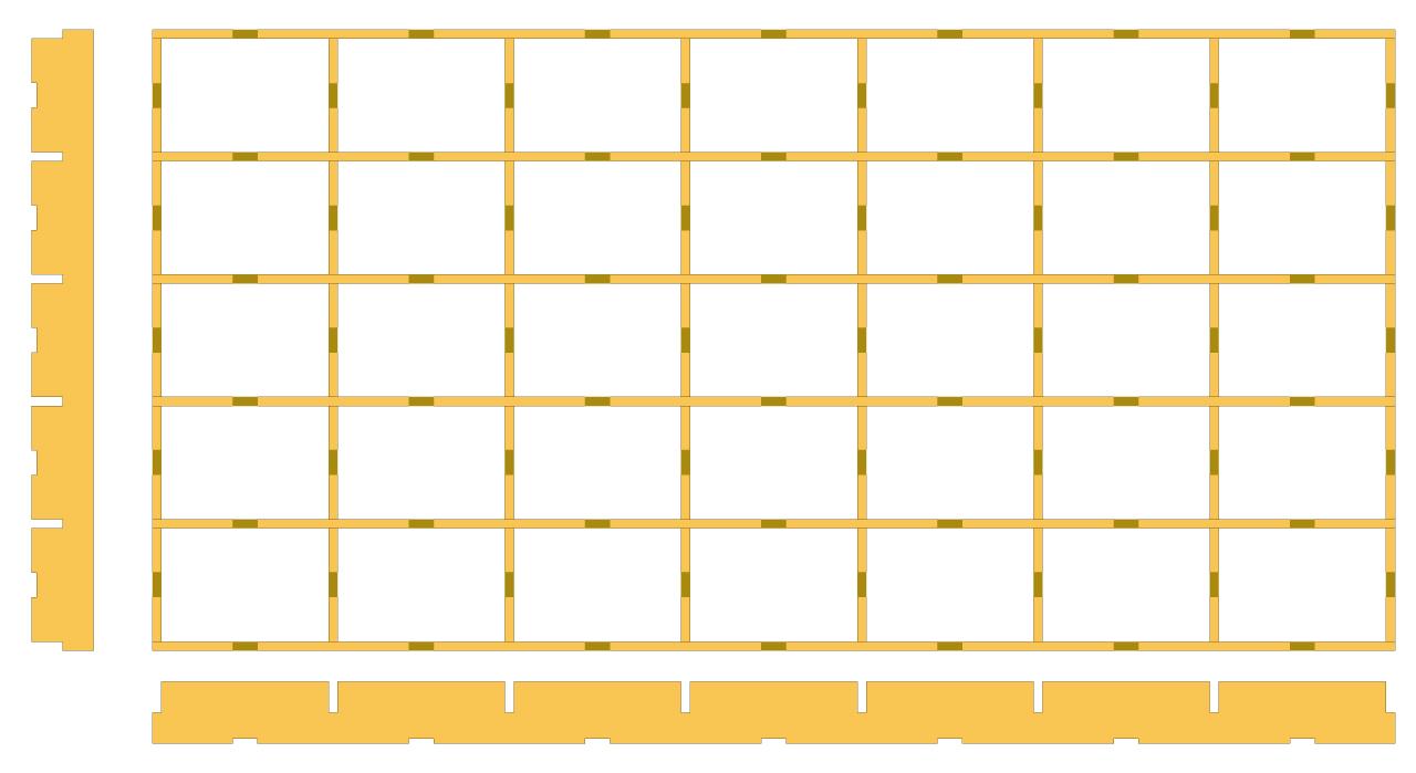 Table de support pour scie plongeante TS55 Plan-t10