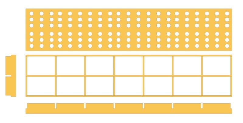 Table de support pour scie plongeante TS55 Plan-t11