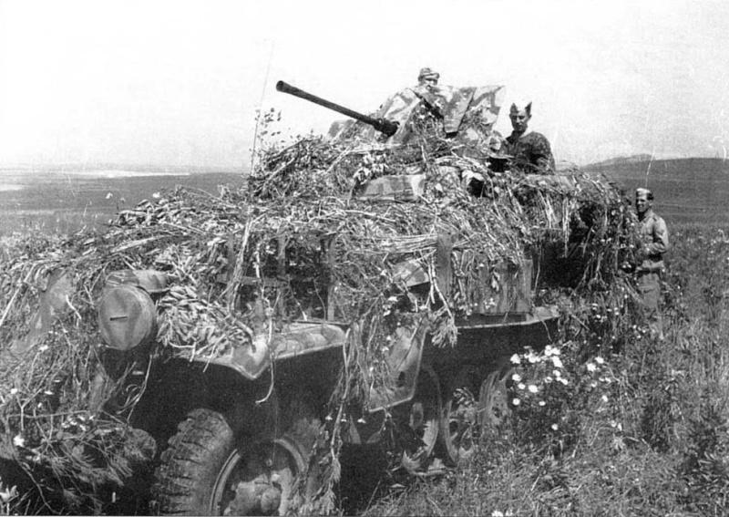 SDKFZ 251/17 Flack 38 -20mm- Luftwaffe - Panzer division Hermann Goering 251fla11