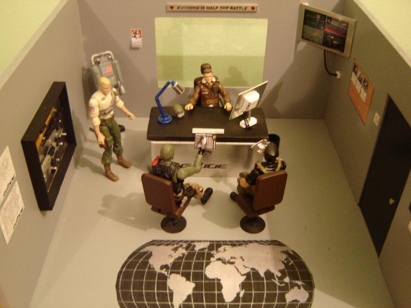 Custom G.I. Joe Diorama Hawk's Office Hawks_10