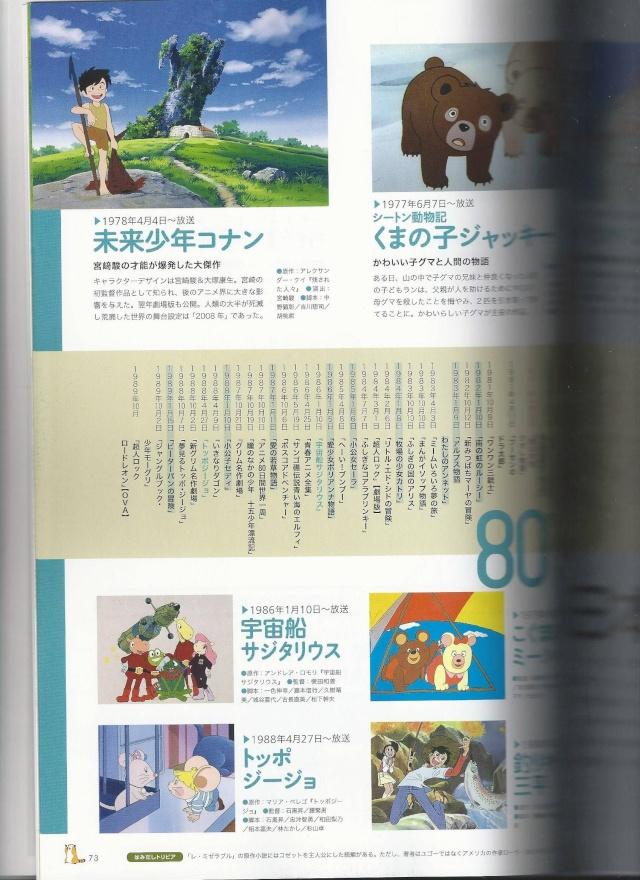 Livre Nippon Animation 40ème anniversaire 1510