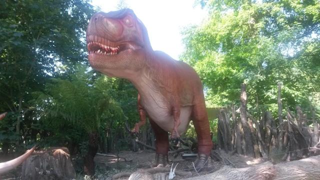 Zoo de Thoiry / Expositions de dinosaures 20150626