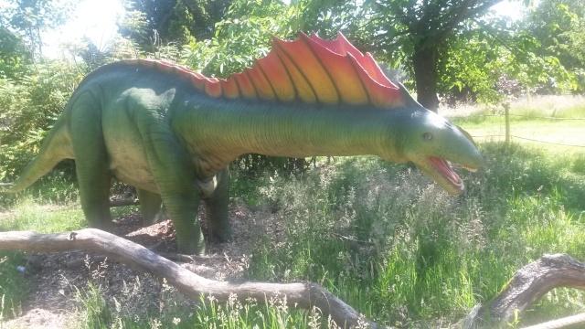 Zoo de Thoiry / Expositions de dinosaures 20150628