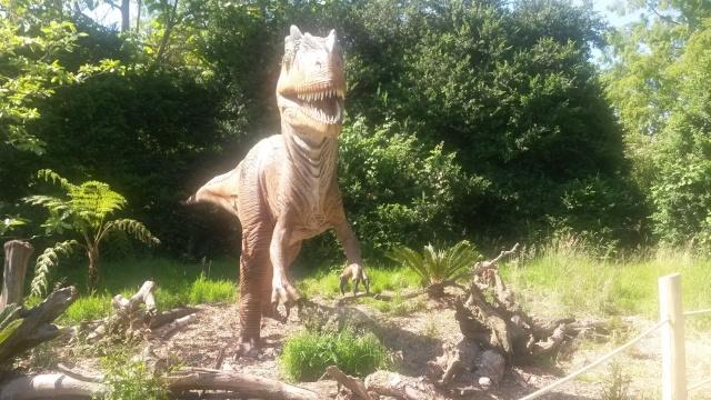 Zoo de Thoiry / Expositions de dinosaures 20150629