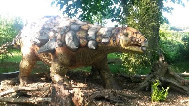 Zoo de Thoiry / Expositions de dinosaures 20150631