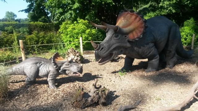 Zoo de Thoiry / Expositions de dinosaures 20150632