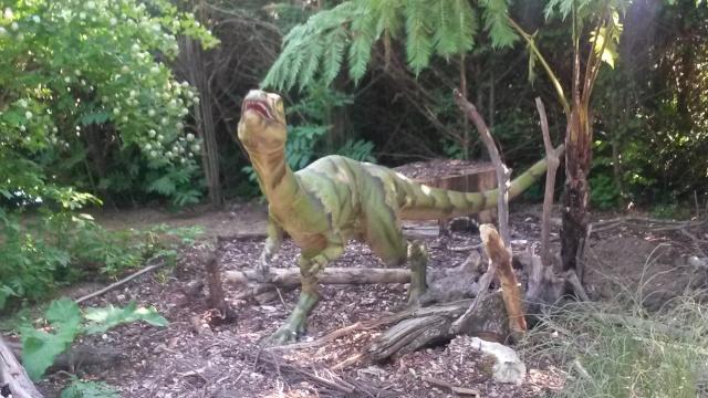 Zoo de Thoiry / Expositions de dinosaures 20150633