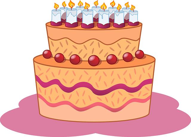 Joyeux Anniversaire Elerina Cake-310
