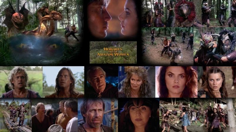 HÉRCULES - A SAGA - Hercules and the Amazon Women Cojdl510