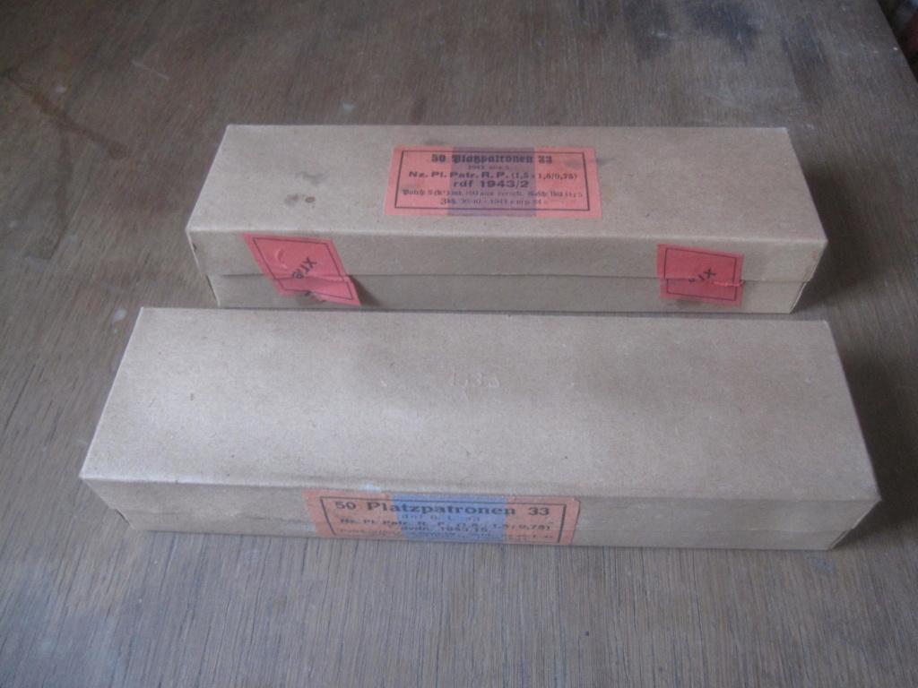 Boites de 50 platzpatronen 33 Img_2515