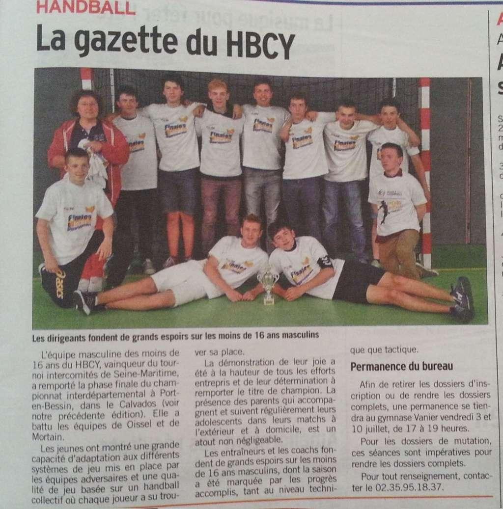 Yvetot HBC - Page 3 20150710
