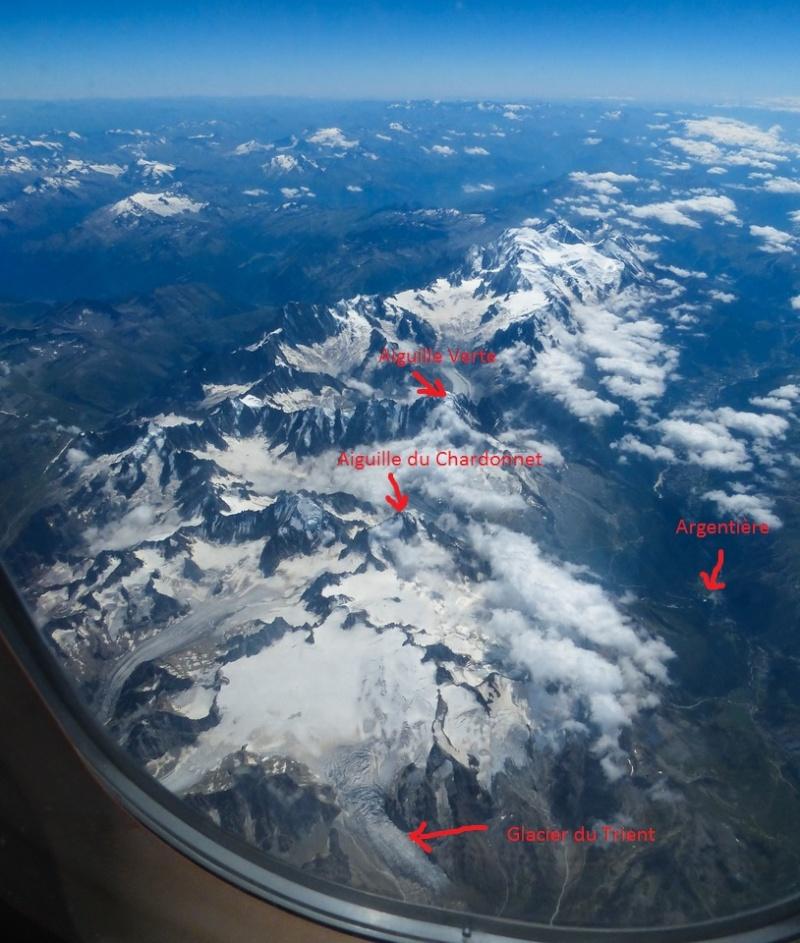 le Mont Blanc vu d'en haut 14994210