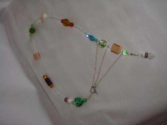 mes collier en verre de murano et perle de verre de lilou Image014