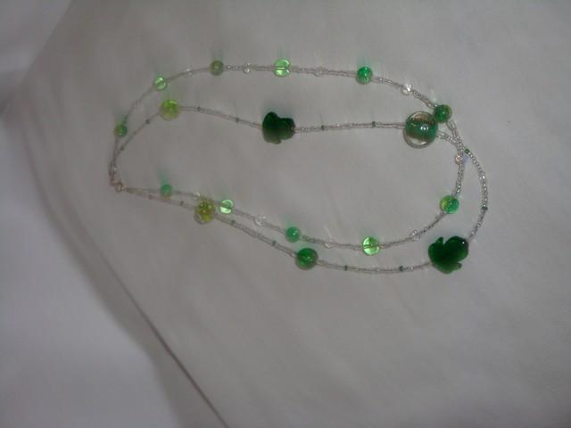 mes collier en verre de murano et perle de verre de lilou Image021