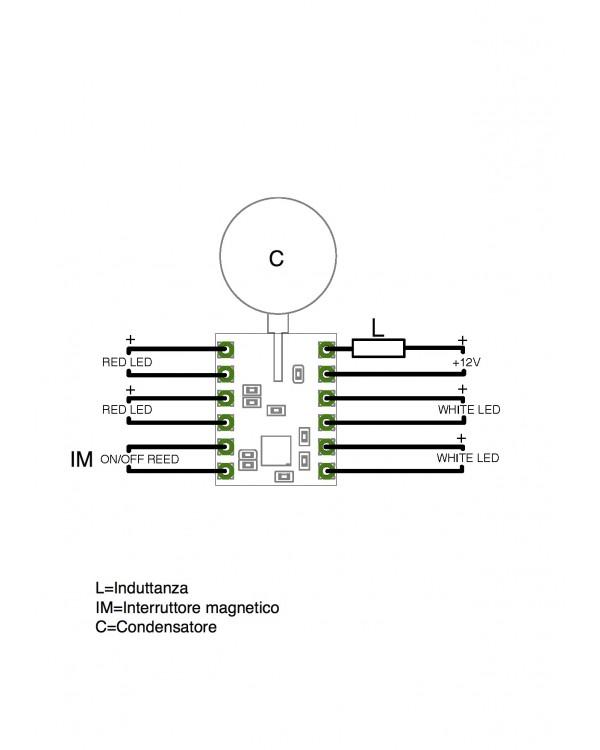 Impianto luci MB Schema10