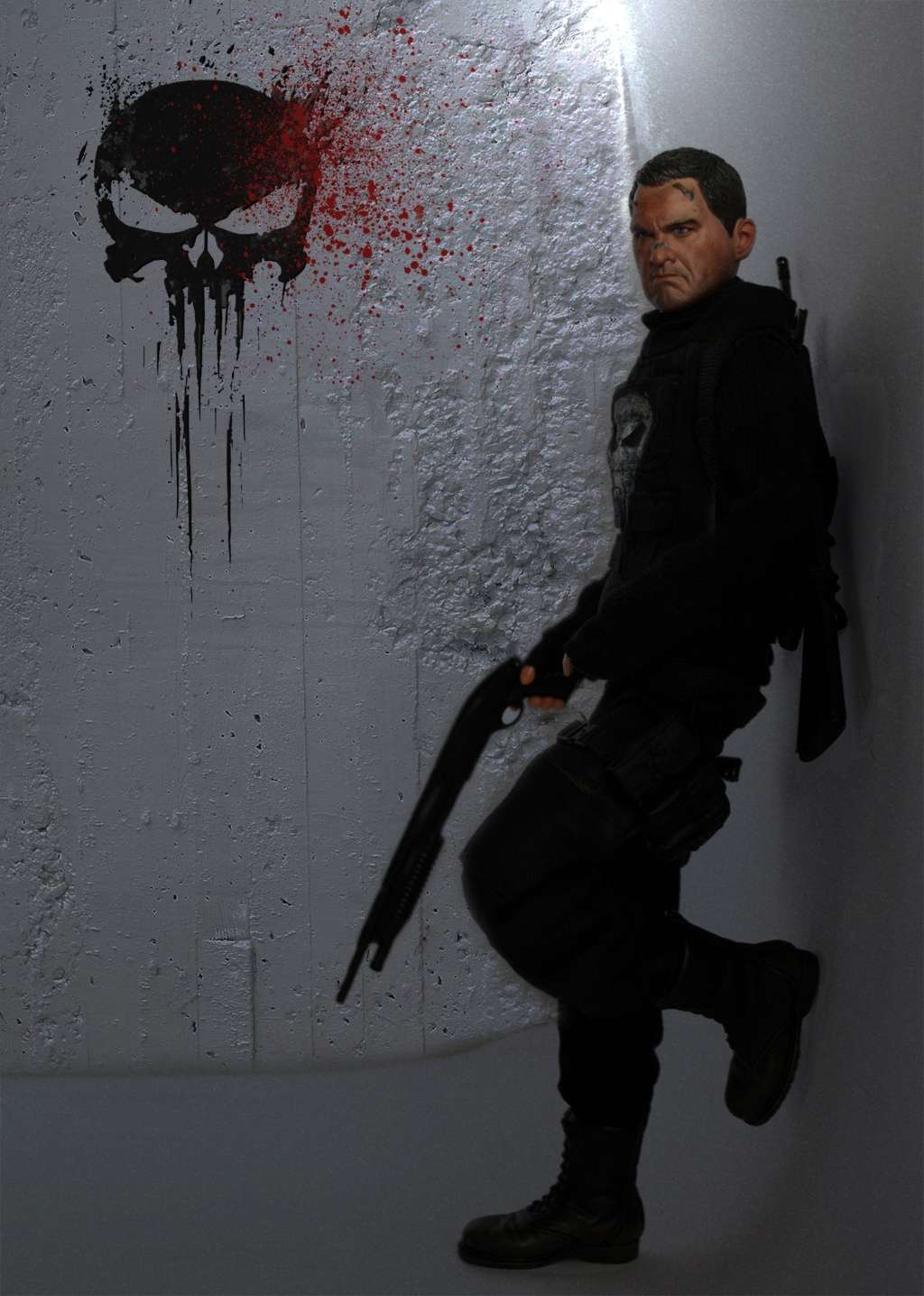 PUNISHER CUSTOM 1/6 12 inch, 30 cm 411