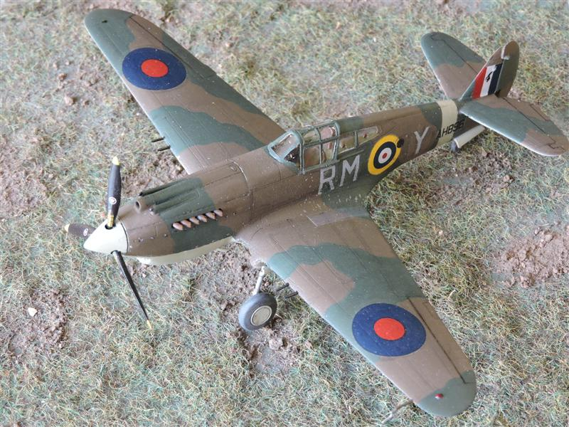 [airfix] curtiss MK.IIA tomahawk Curtis15