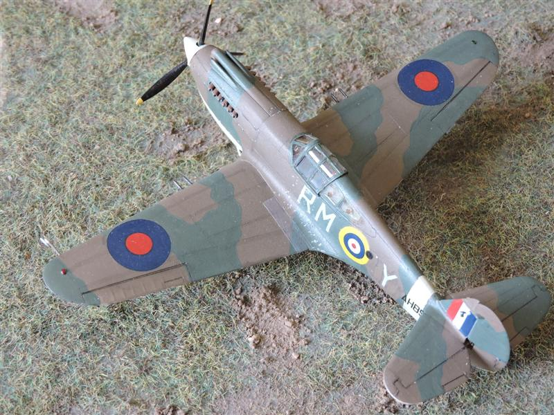 [airfix] curtiss MK.IIA tomahawk Curtis16