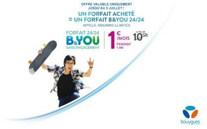 Un forfait B&You 24/24 à 1 € en exclu pour les clients Bouygues Telecom Unname11