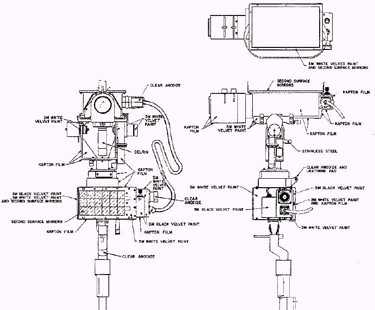 La caméra qui filmait le décollage du LM Gcta_d12