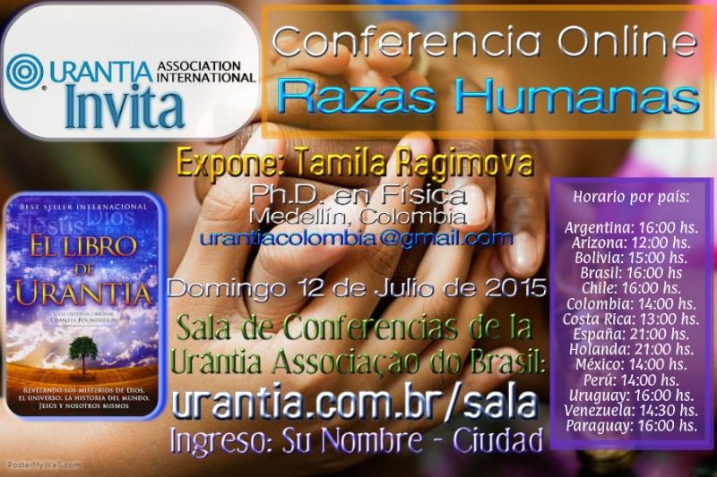 Conferencia online sobre Razas Humanas Afiche10
