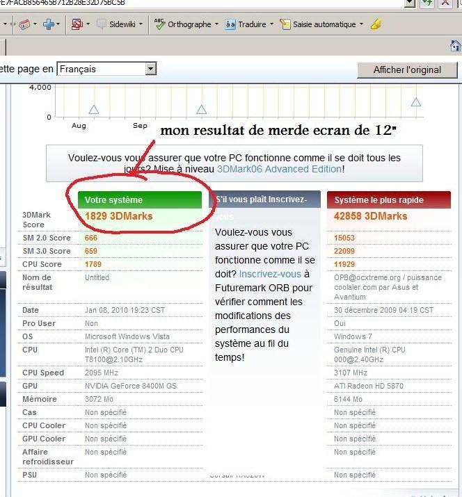 posez vos screens 3d mark 3d_mar12
