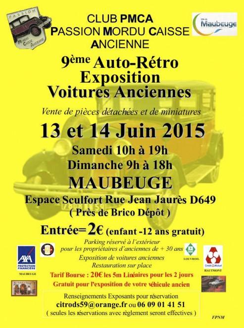 CR - IX  ème AUTO RETRO   MAUBEUGE Bourse10