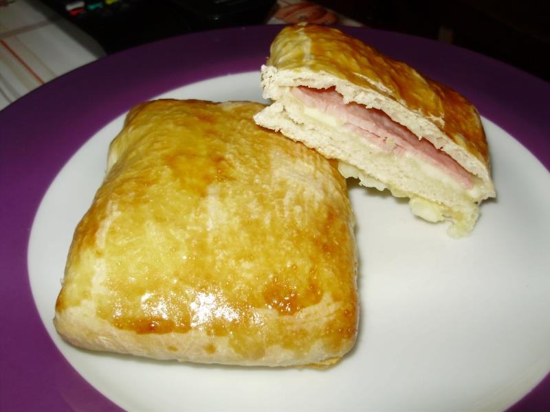 Galette au jambon et au fromage Galett10