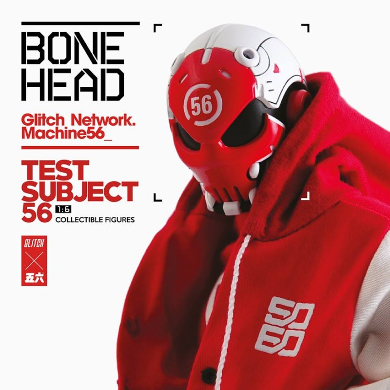 GLITCH NET WORK - MACHINE56 - BONE HEAD 11403310