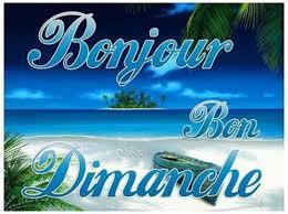Bonjour du jour et bonsoir du soir - Page 6 Dimanc10